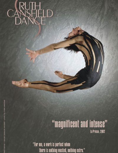 Ruth Cansfield Dance Poster