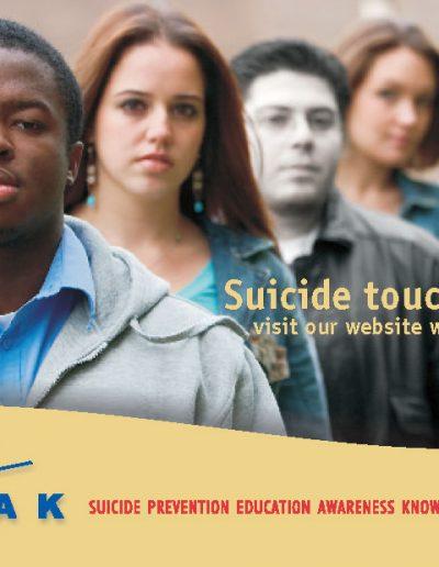 Suicide Prevention Postcard
