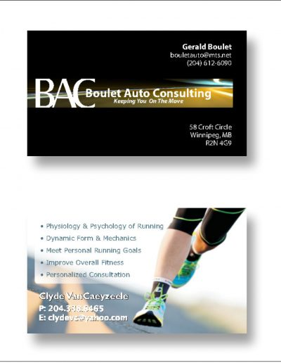 BAC Clide Business Cards