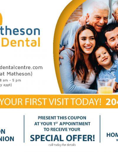 Matheson Dental Postcard