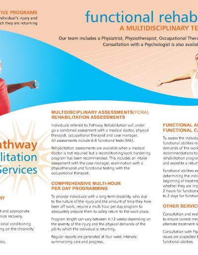 Pathways Physio Brochure
